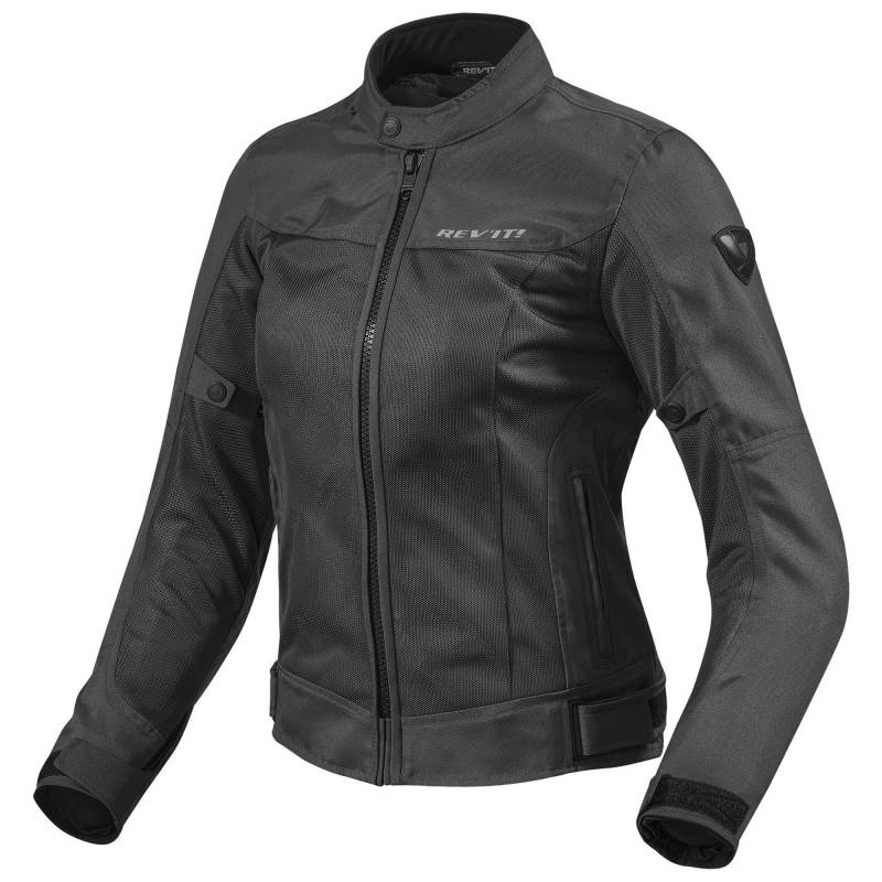 REVIT! Ladies Eclipse Mesh Jacket Black| Women's Mesh Motorcycle Jacket