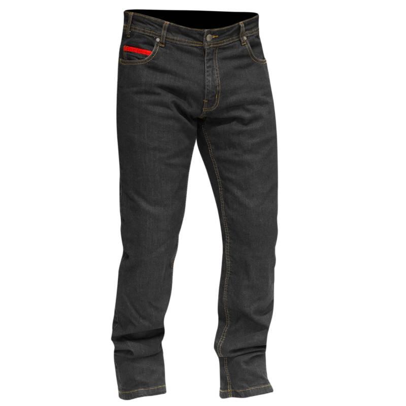 Merlin Blake Jeans | Black Regular Fit Stretch Jeans