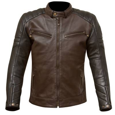 Merlin Chase Jacket - Leather Tracker Style Motorcycle Jacket