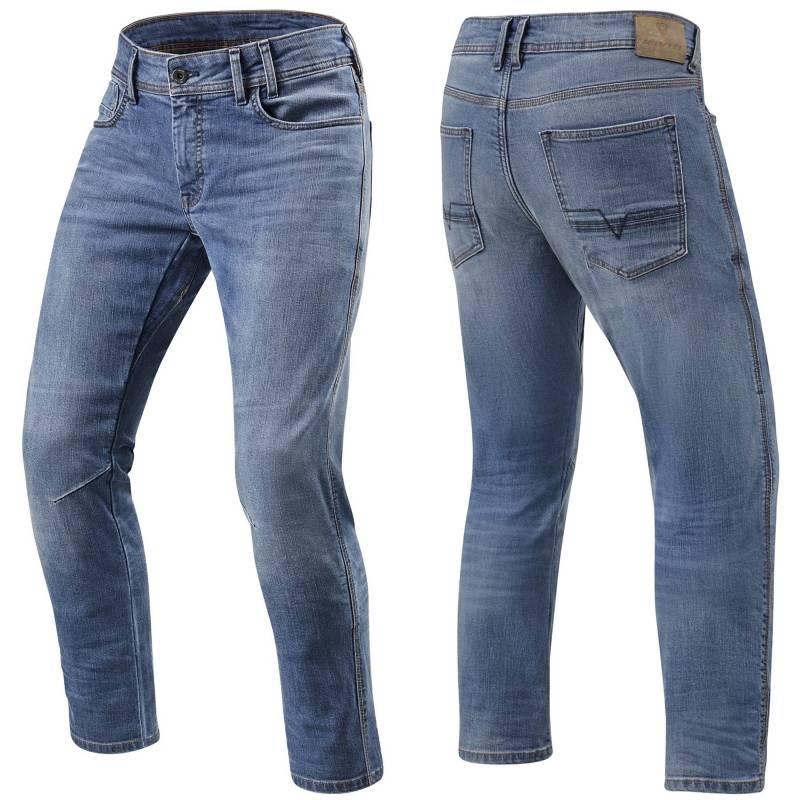 REVIT Detroit TF Jeans - Classic Light BLue