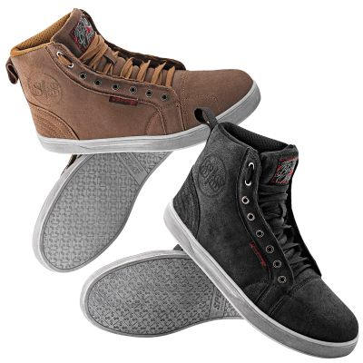 Speed and Strength Black 9 Moto Shoes - Riders Line Motorcycle Gear and Accessories
