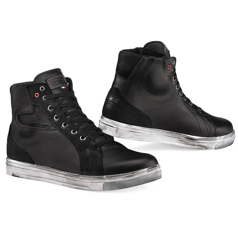 TCX Street Ace Waterproof Motorcycle Shoes - Black