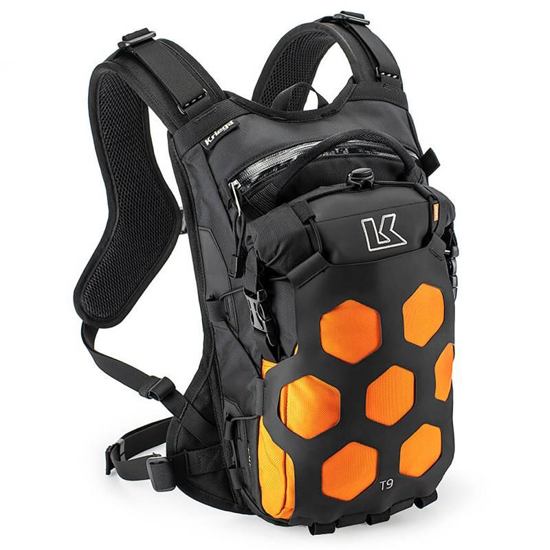 Kriega Trail9 Adventure Backpack - Orange
