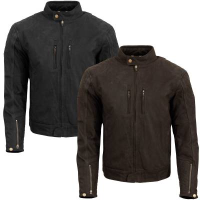 Merlin Stockton Leather Jacket