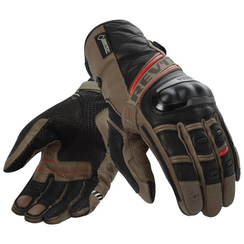 REVIT! Dominator GTX Gloves - Sand / Red