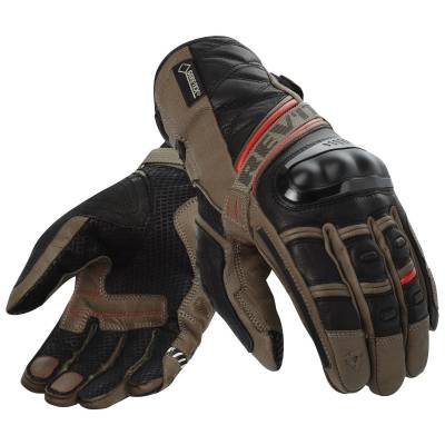 REVIT! Dominator GTX Gloves - Sand / Red