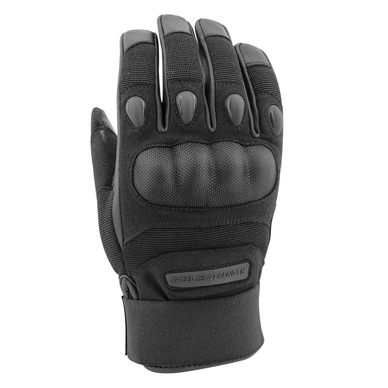 Speed and Strength Call To Arms Summer Gloves - Black