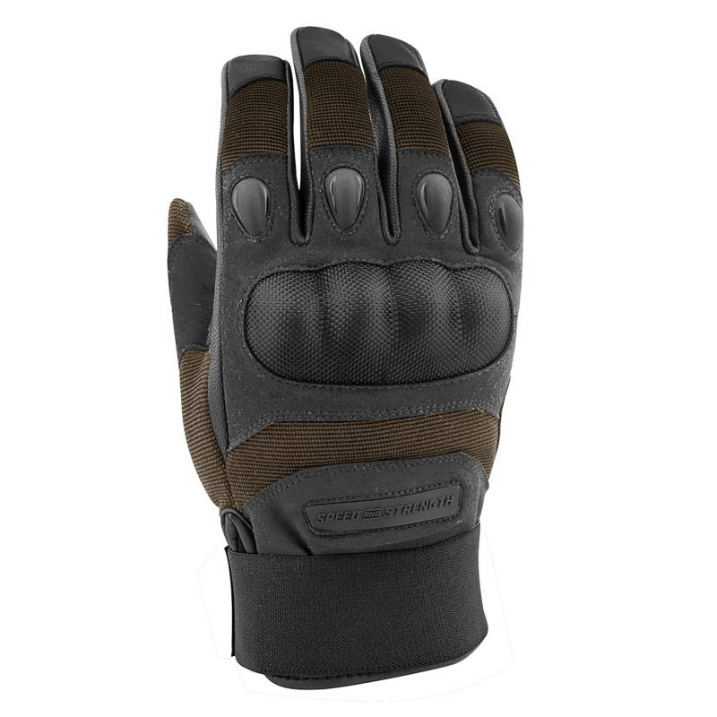 Speed and Strength Call To Arms Summer Gloves - Brown