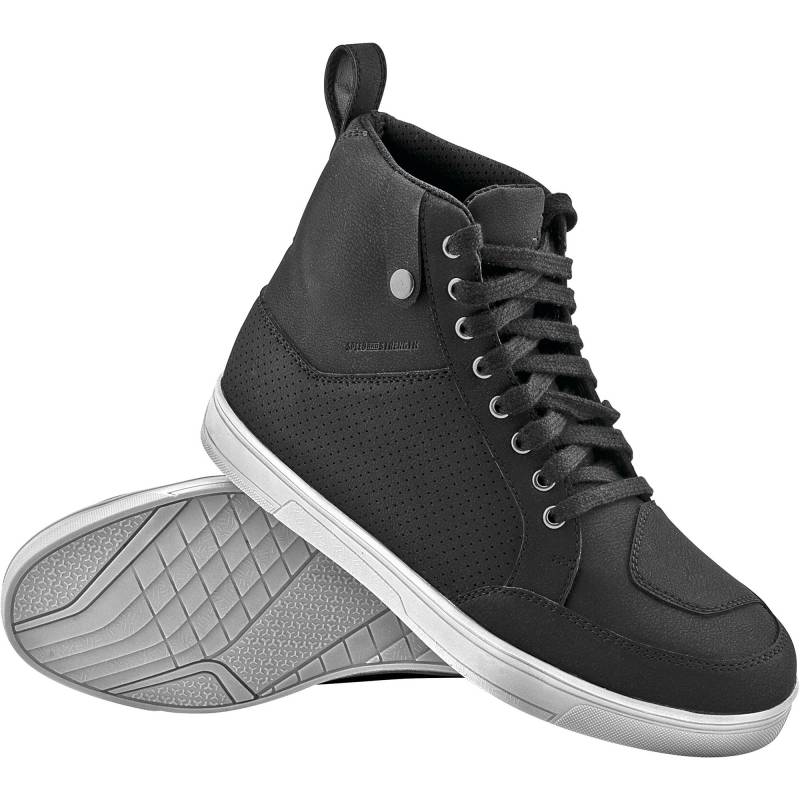 Speed and Strength United By Speed Moto Shoes - Black / White