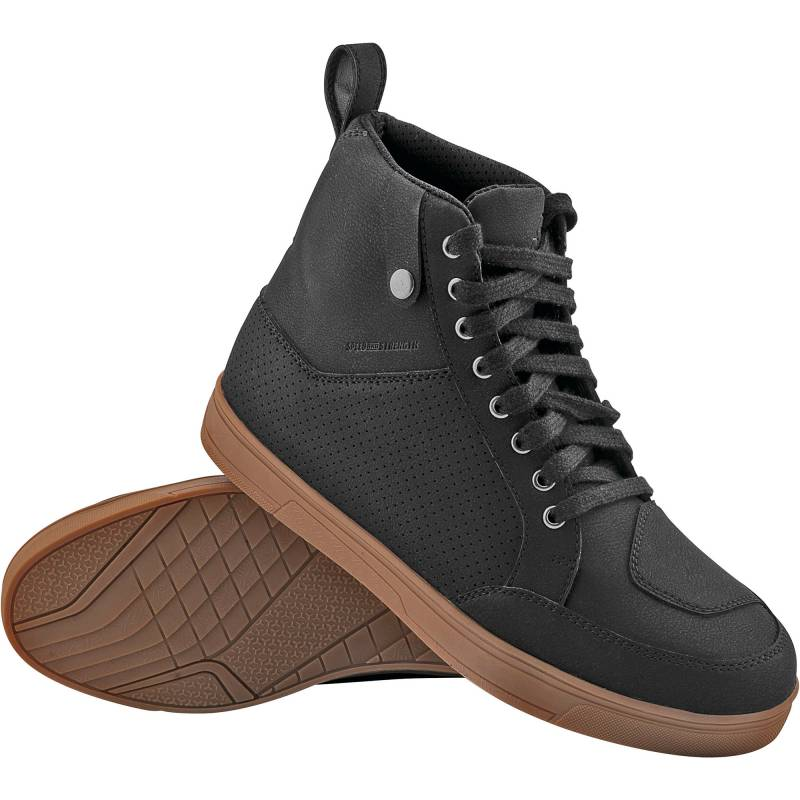 Speed and Strength United By Speed Moto Shoes - Black / Gum