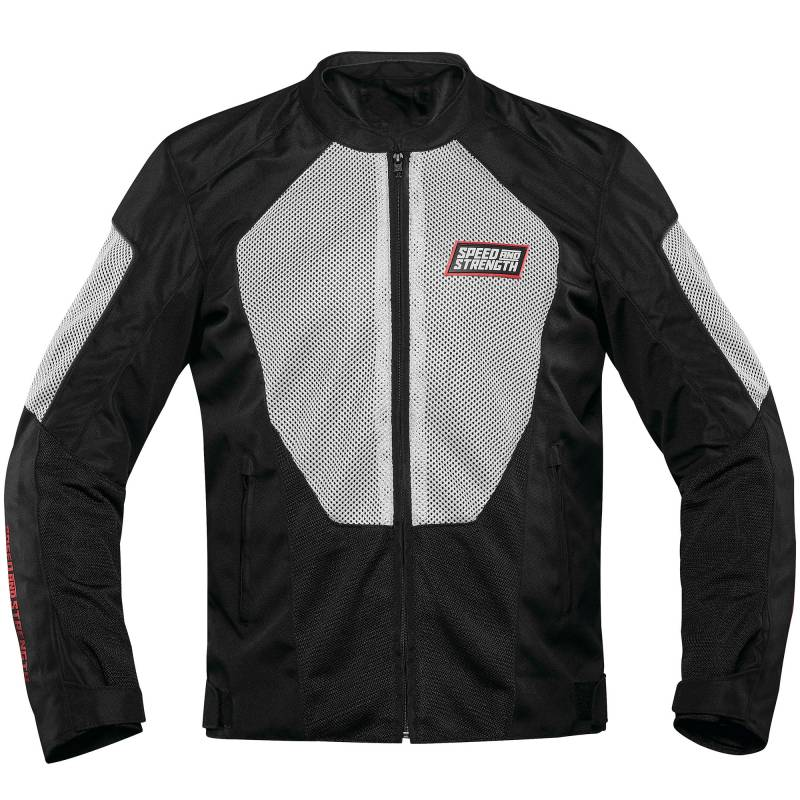 Speed and Strength Hot Head Mesh Jacket - Black / White