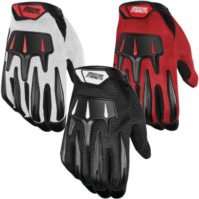 Speed and Strength Hot Head Mesh Summer Motorcycle Gloves