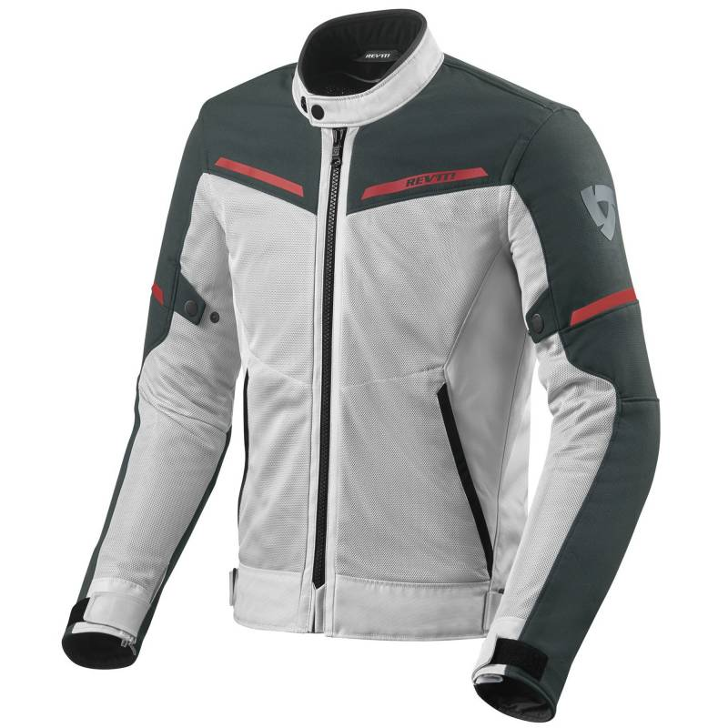 REVIT! Airwave 3 Mesh Summer Motorcycle Jacket | Silver Anthracite