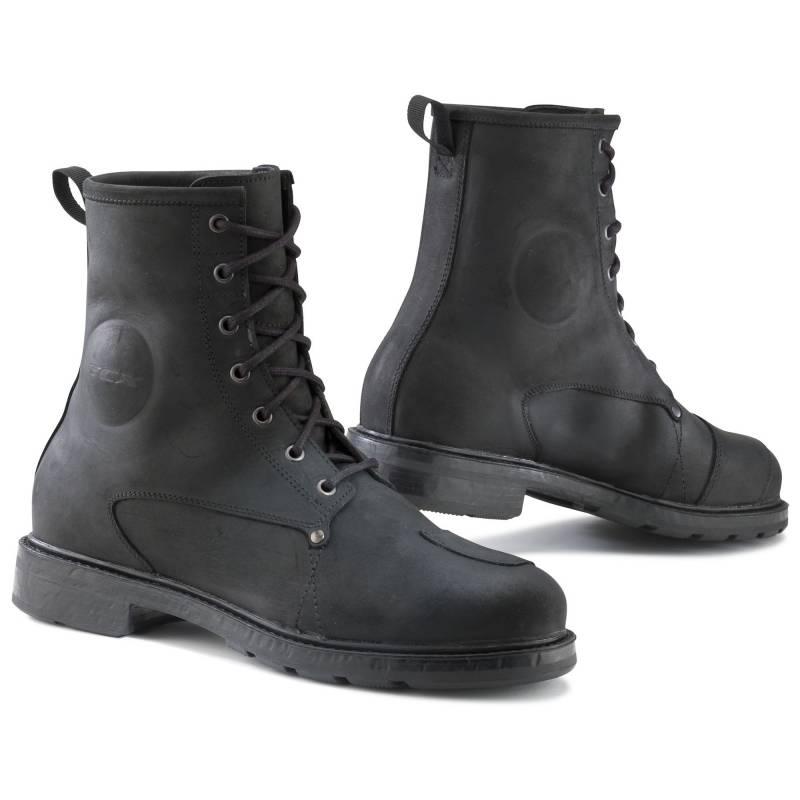 TCX X-Blend Waterproof Vintage Motorcycle Boots | Black