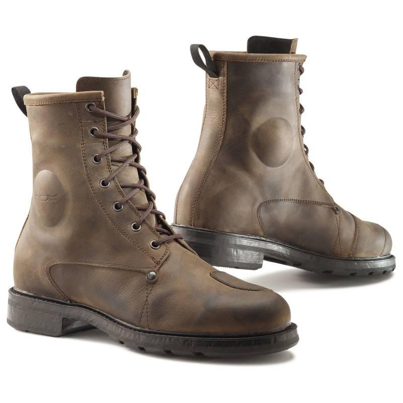 TCX X-Blend Waterproof Vintage Motorcycle Boots | Brown
