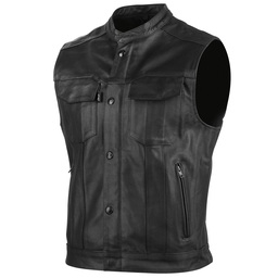 Speed and Strength Band Of Brothers Leather Vest