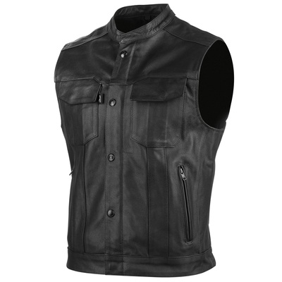 Speed and Strength Band Of Brothers Leather Motorcycle Vest