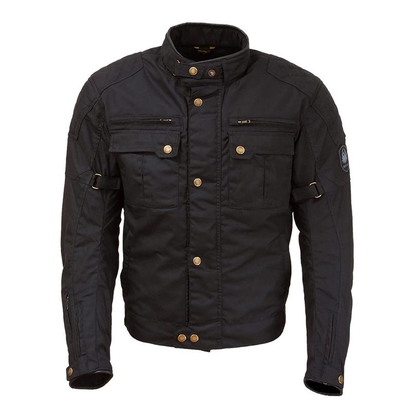 Merlin Perton Jacket - Cotec Wax Motorcycle Jacket