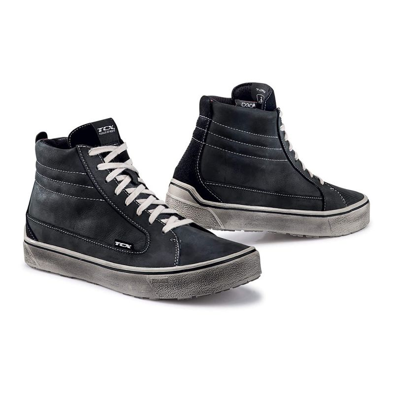 TCX Street 3 Waterproof Motorcycle Riding Shoes - Black