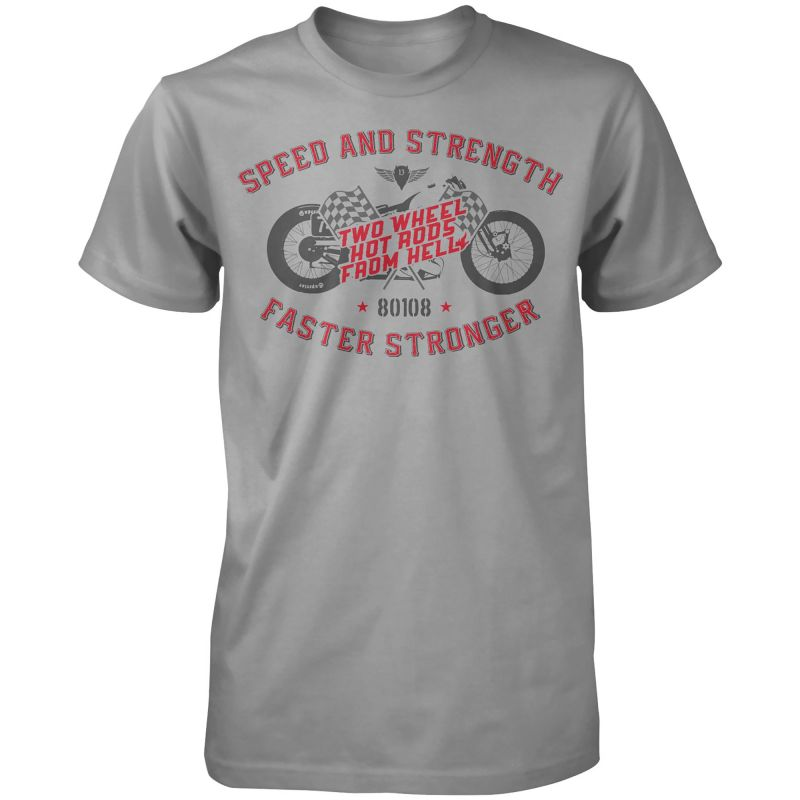 Speed and Strength Two Wheel Hot Rods™ Motorcycle T-Shirt