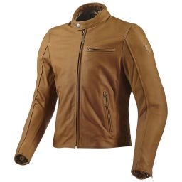 REVIT! Flatbush Leather Jacket