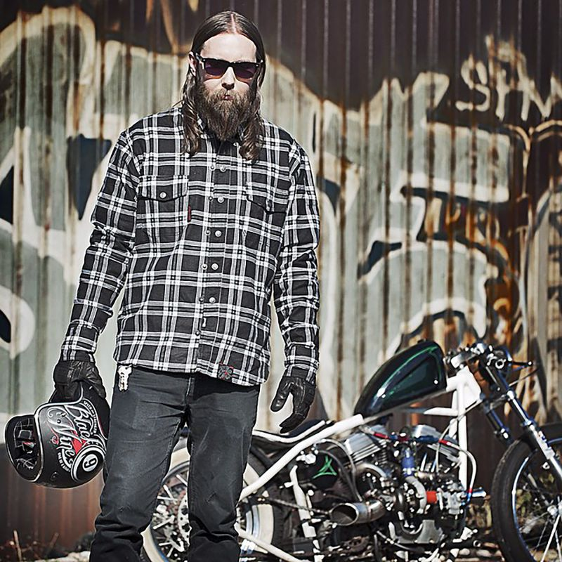 Speed and Strength Mens Black 9 Moto Shirt