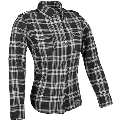Speed and Strength Ladies Smokin' Aces Reinforced Moto Shirt
