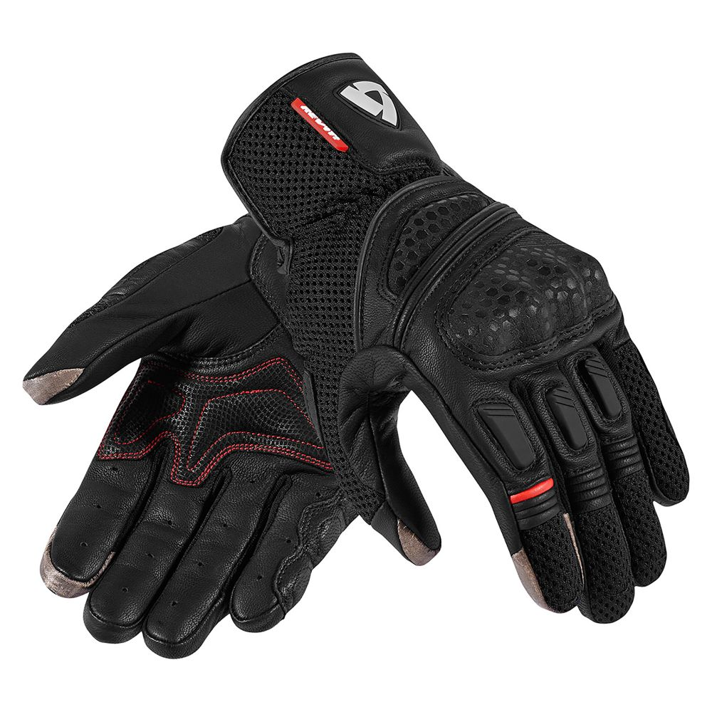 Black leather gloves sydney - Dirt 2 Mens Mesh Leather Summer Motorcycle Gloves