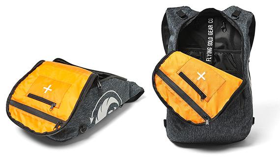 Flying Solo Ashvault Backpack Internal Storage