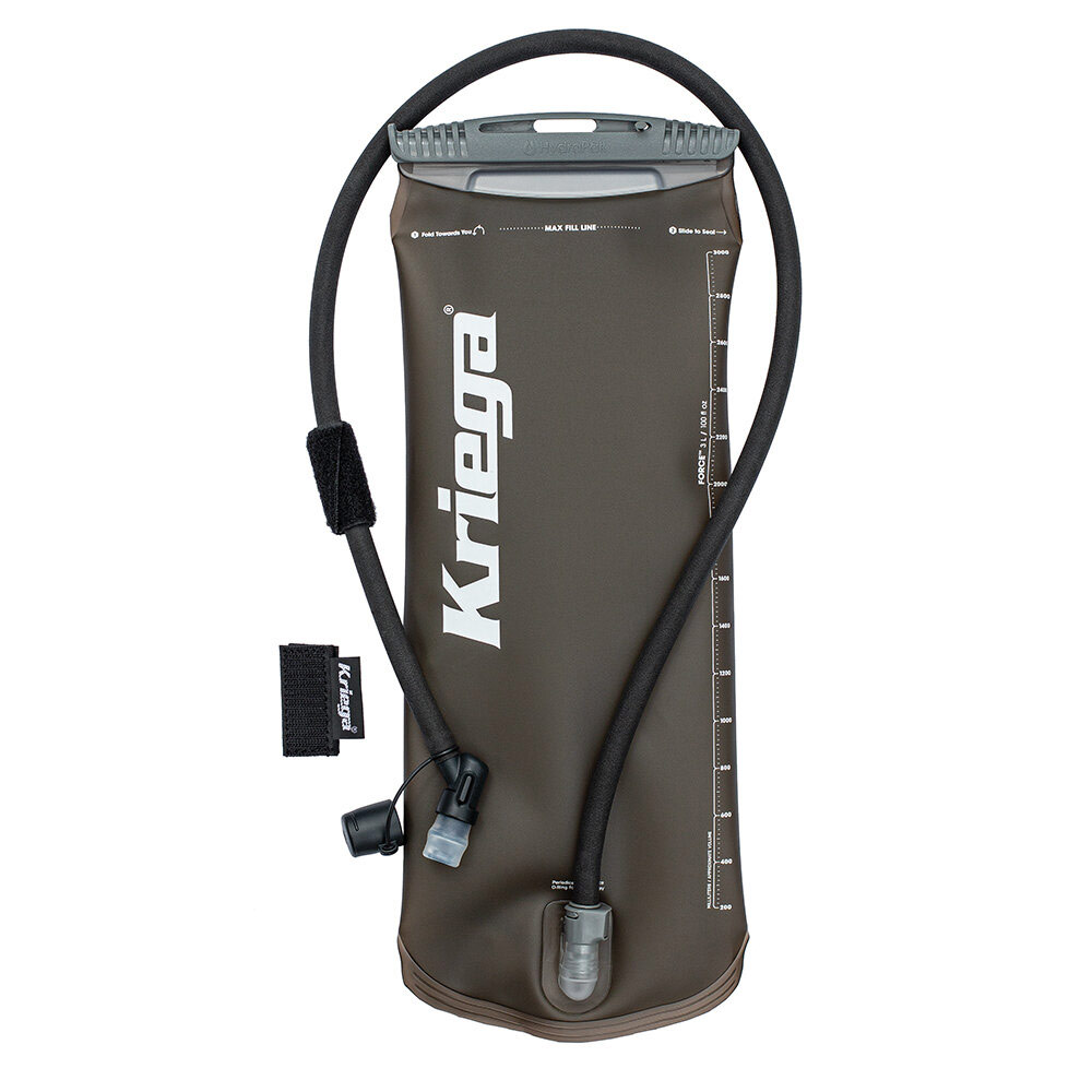 Kriega Hydrapak 3 Litre Motorcycle Hydration Bladder