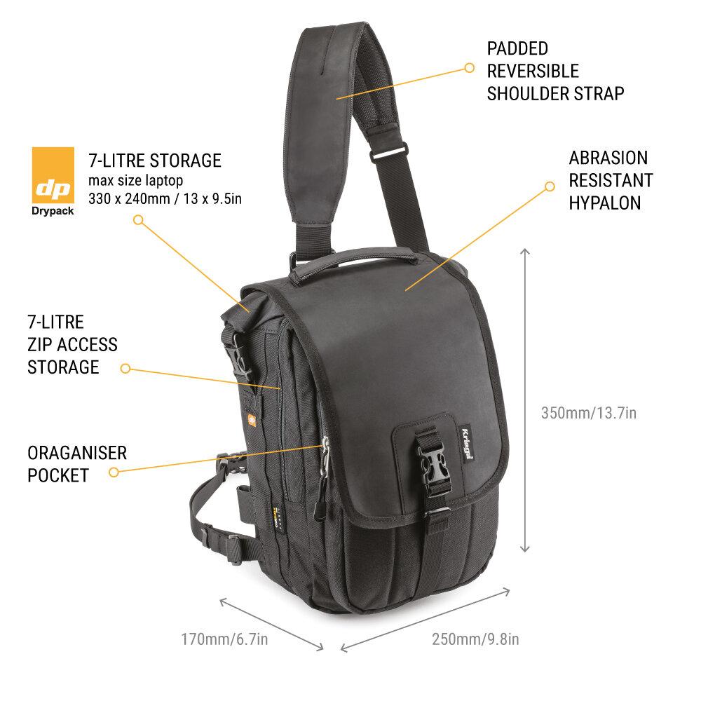 Kriega Slip Pro Messenger Bag