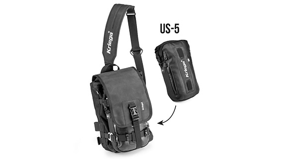 Kriega Sling WP Messenger Bag With Added US-5 Dry Pack