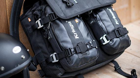 Kriega Urban WP Messenger Bag With Added Optional US-5 Drypack