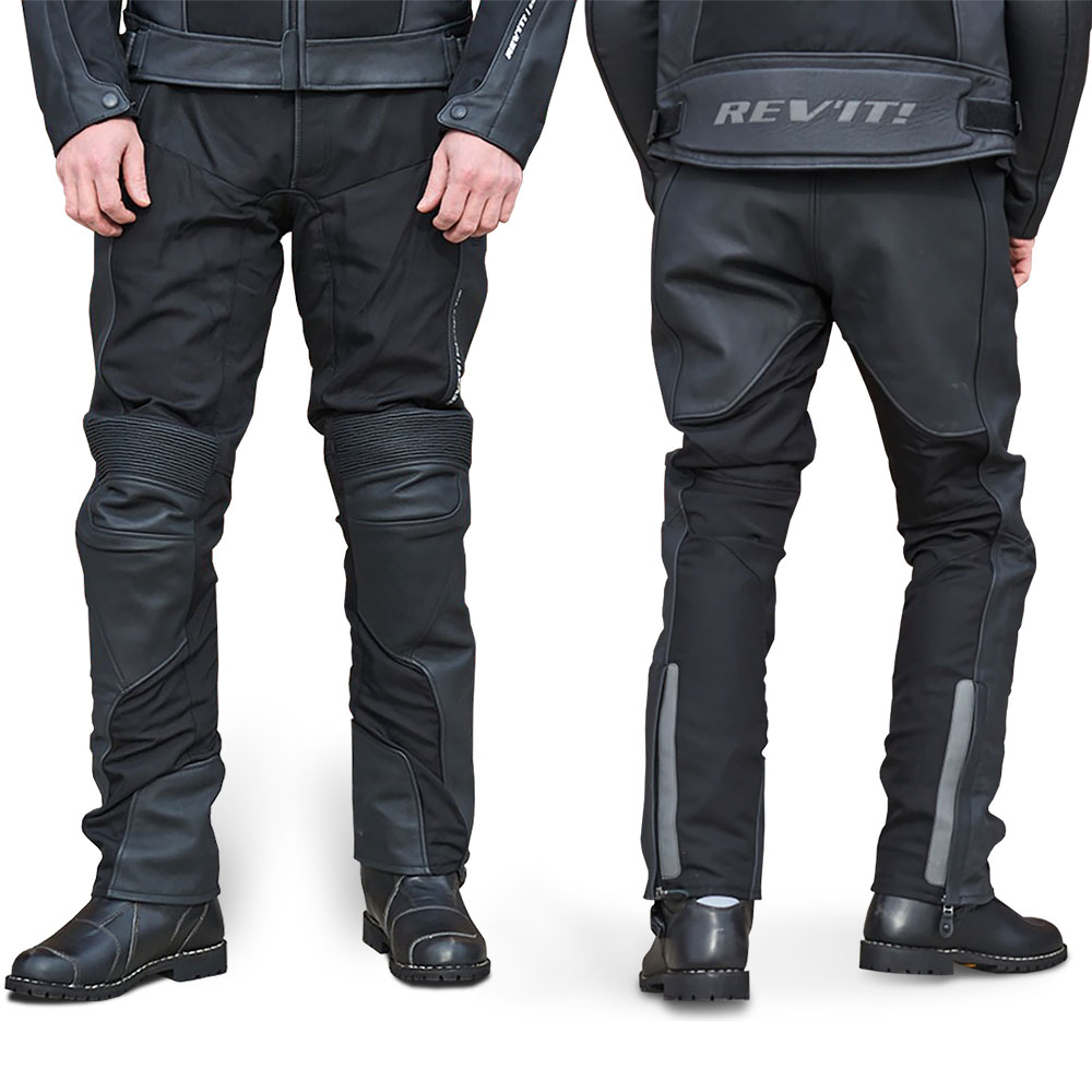 REVIT! Ignition 3 Leather and Mesh Motorcycle Pants