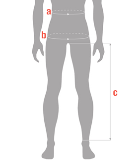 Male Waist Size Chart Guide