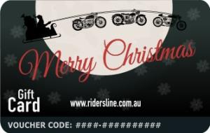 Merry Christmas - Moto Sleigh