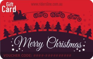 Merry Christmas - Moto Sleigh Red