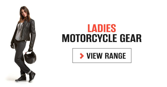 Ladies Motorcycle Gear - Ladies protective motorcycle jeans, jackets, gloves and boots